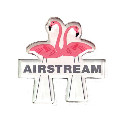 Airstream Flamingos